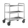 Stainless Steel Trolley 3 Level 85x45x90cm-serveware-new gum sarn