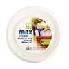 "Max Choice Biodegradabledegrdable Plates 260mm 10"" 8pcs-plates-new gum sarn"